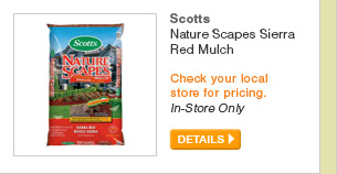 Scotts Nature Scapes Sierra Red Mulch - DETAILS