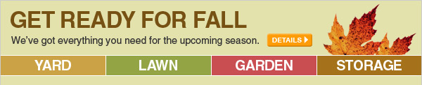 Get Ready for Fall - We've got everything you need for the upcoming season. - DETAILS