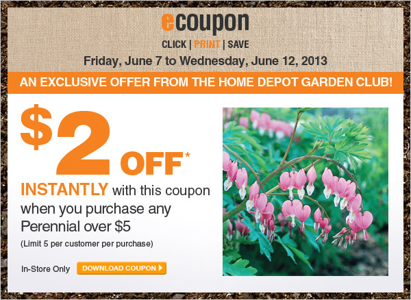 $2 Off When You Purchase Any Perennial Over $5 - DOWNLOAD COUPON