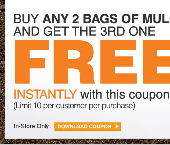 Buy Any 2 Bags Of Mulch And Get The 3rd One Free - DOWNLOAD COUPON