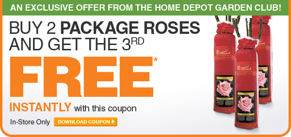 Buy 2 Package Roses and Get the 3rd Free - DOWNLOAD COUPON