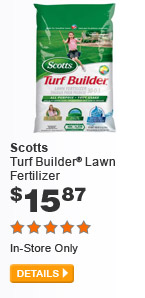 Scotts Turf Builder Lawn Fertilizer - DETAILS