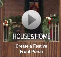 Create A Festive Front Porch
