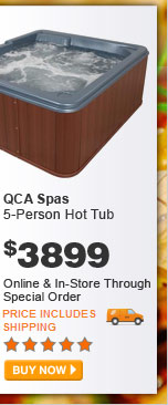 QCA Spas 5-Person Hot Tub - BUY NOW