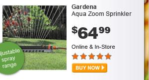 Gardena Aqua Zoom Sprinkler - BUY NOW