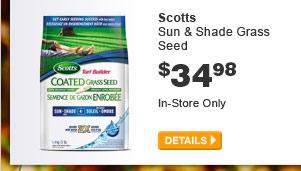 Scotts Sun & Shade Grass Seed - DETAILS