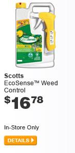 Scotts EcoSense Weed Control - DETAILS
