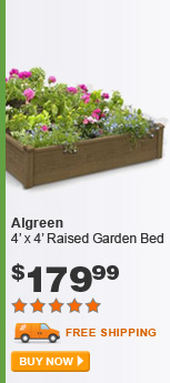 Algreen 4' x 4' Raised Garden Bed - BUY NOW