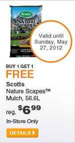Scotts Nature Scapes Mulch - DETAILS