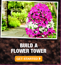 Build a Flower Tower - GET STARTED