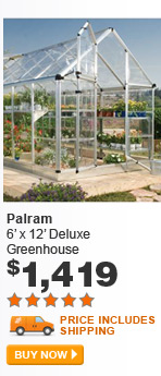 Palram 6' x 12' Deluxe Greenhouse - BUY NOW